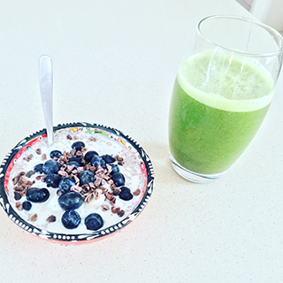 healthy breakfast by gut health specialist in Bucks