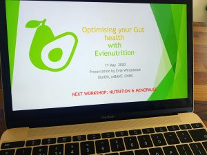 Optimising gut health online workshops