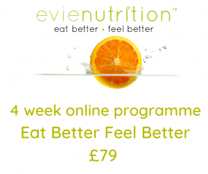 Evienutrition healthy eating programme online nutrition for weight loss