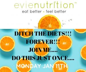 Eat better feel better programme starting January 2021