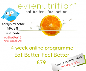 Evienutrition weight loss programme special offer
