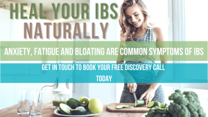 Evie nutritionist helping IBS and improving gut health